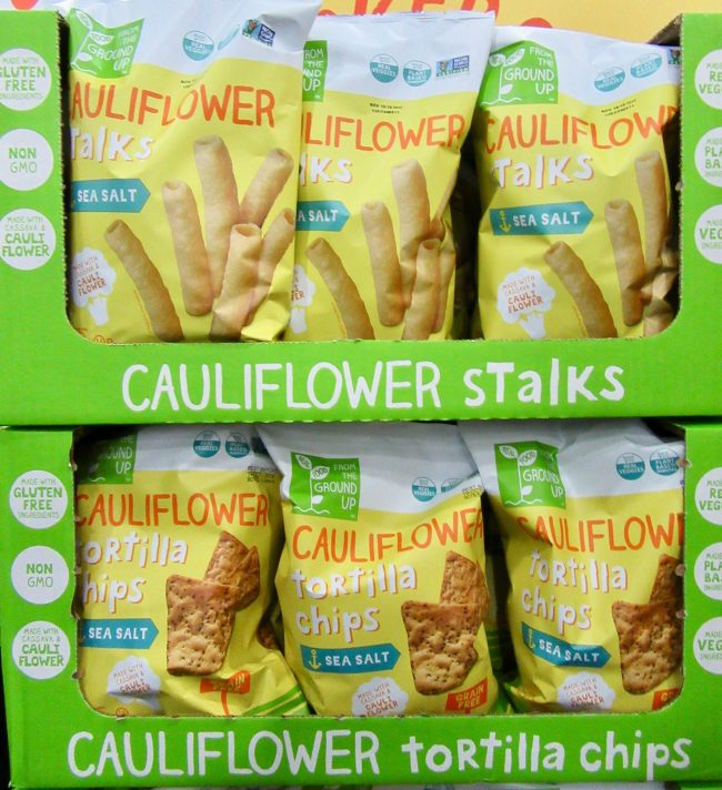 Cauliflower Chips and Snacks