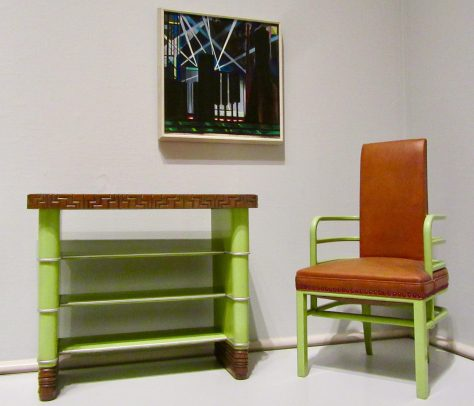 Serving Table and Arm Chair By Kem Weber
