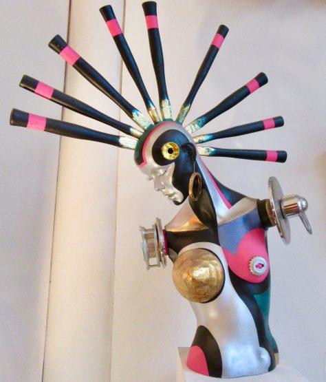 Mohawk Mannequin
