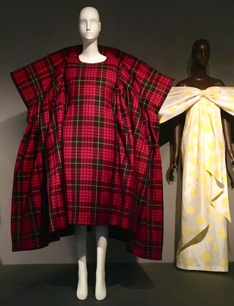 Rei Kawakubo Tartan Dress
