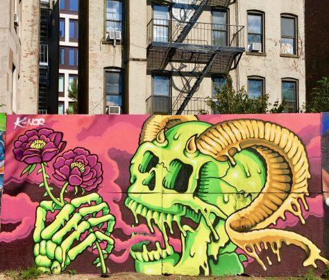 KNOR Thorns Mural
