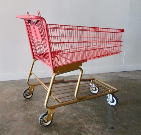 Pink Shopping Cart