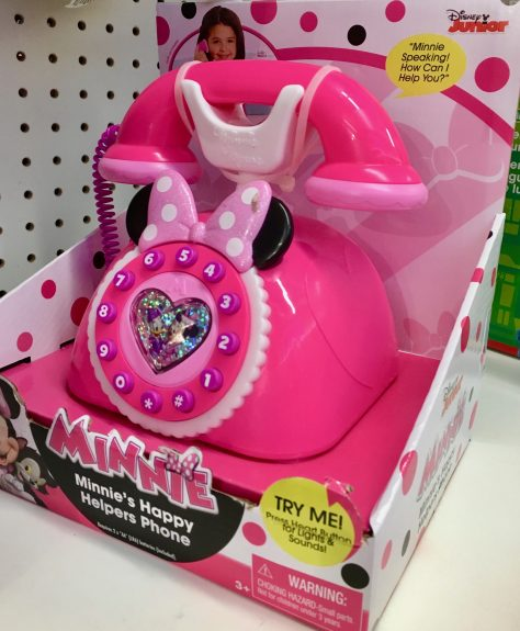 Minnie Mouse Pink Toy Phone