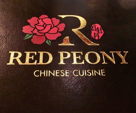 Red Peony Menu Logo
