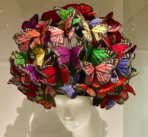 Butterfly Headpiece By Philip Treacy Photo By Gail Worley