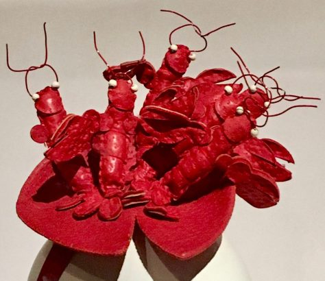 Lobster Hat Close Up By Gail Worley