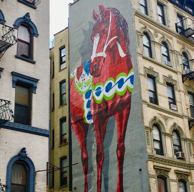 Shai Dahan Red Dala Horse By Gail Worley