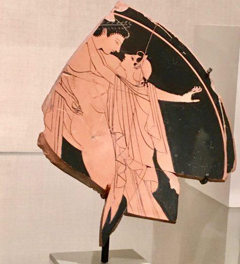 Greek Pottery Shard By Gail Worley