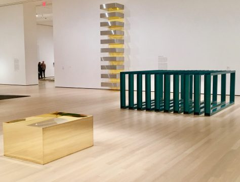 donald judd at moma photo by gail worley