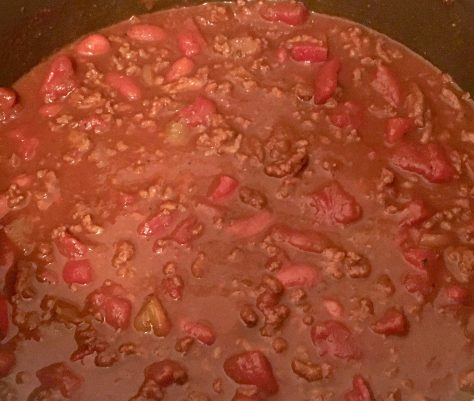 Chili Simmering Photo By Gail