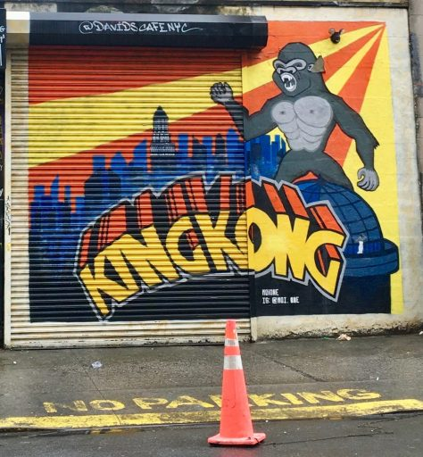 king kong mural photo by gail worley