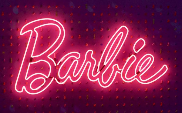barbie neon sign photo by gail worley