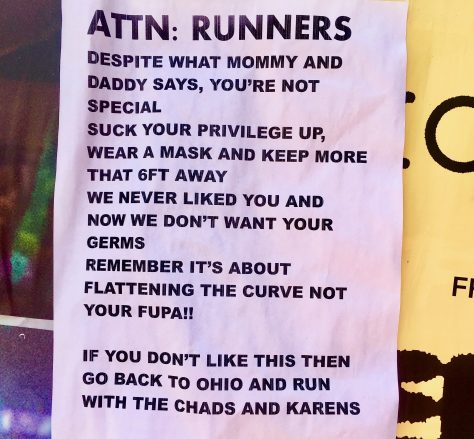 Attn Runners Flyer Photo By Gail