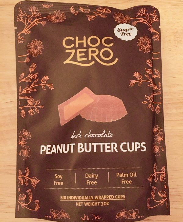 choczero dark chocolate peanut butter cups photo by gail worley