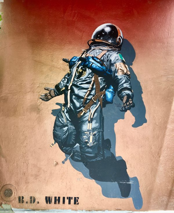 astronaut by bd white photo by gail worley