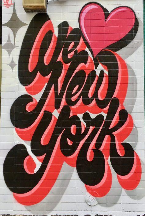 we love new york mural photo by gail
