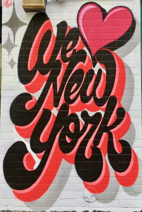 we love new york mural photo by gail
