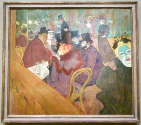 toulouse lautrec at the moulin rouge photo by gail worley