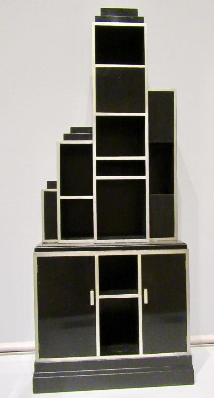 skyscraper cabinet by paul t frankl