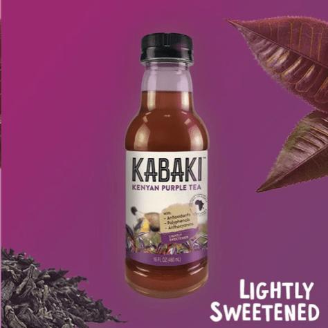 kabaki purple tea lightly sweetened