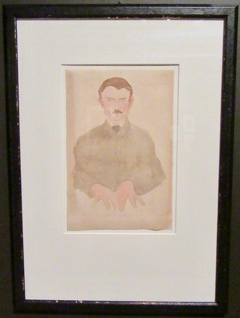 portrait of a medium by amedeo modigliani photo by gail worley