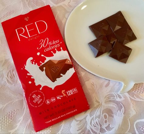 red milk chocolate with wrapper photo by gail worley