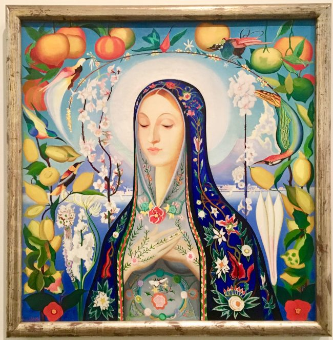the virgin by joseph stella photo by gail worley