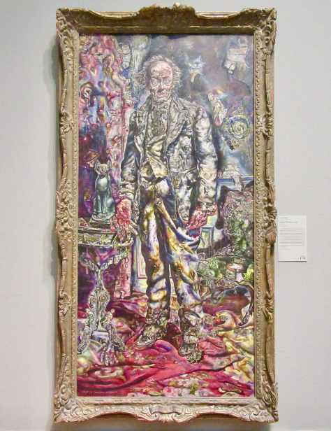 picture of dorian gray by ivan albright photo by gail worley