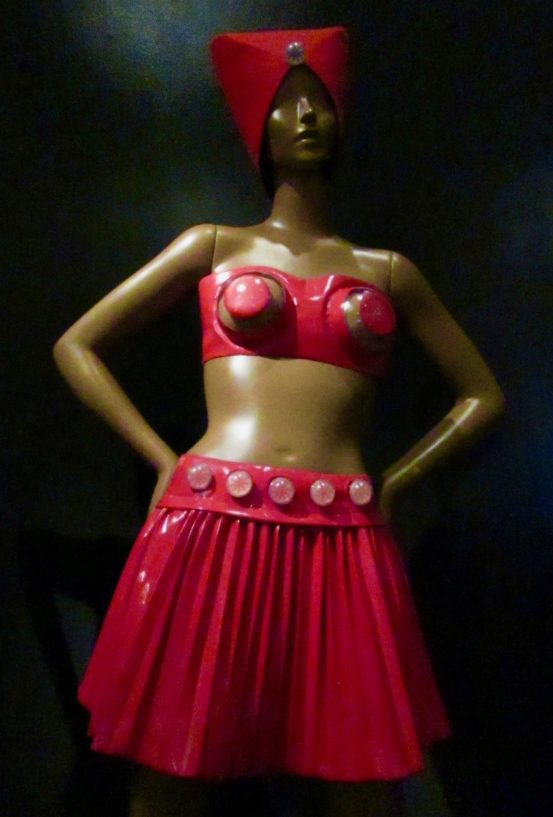 pierre cardin red bandeau top and skirt photo by gail worley