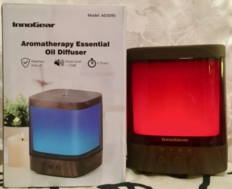 aromatherapy diffuser red and box photo by gail worley