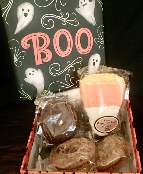 boo baked good gift box photo by gail