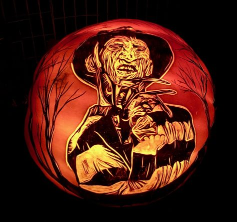 freddie kruger jack o lantern photo by gail worley