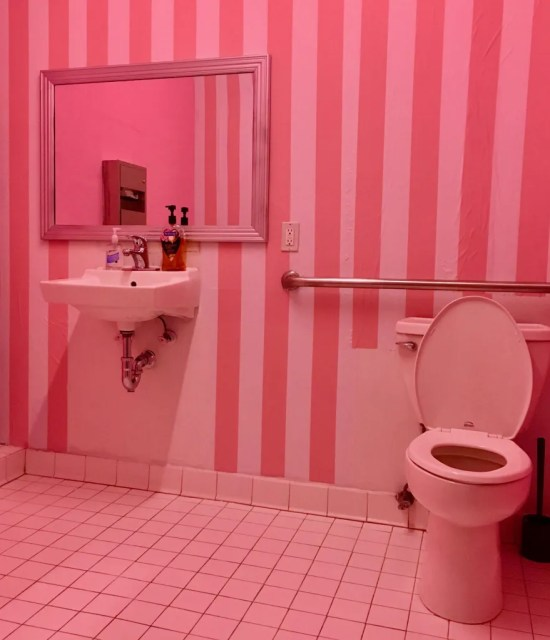 pink bathroom 2 photo by gail worley