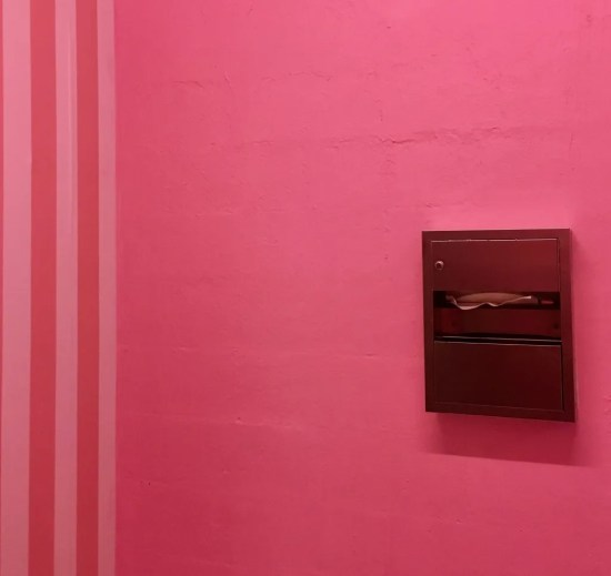 pink bathroom 3 photo by gail worley