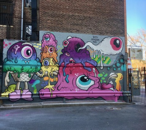 buff monster mural full photo by gail worley
