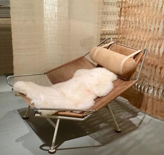 hans wegner halyard armchair photo by gail worley