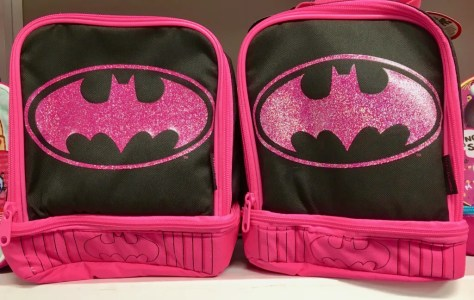 pink batman backpack photo by gail worley