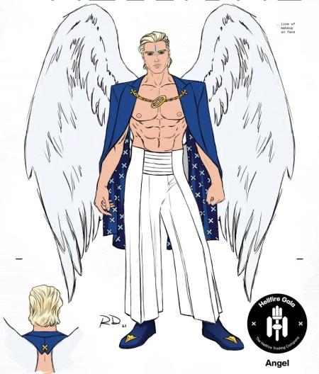 x men angel