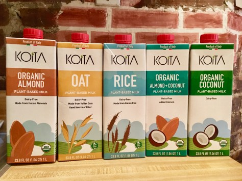 koita plant based milks photo by gail worley
