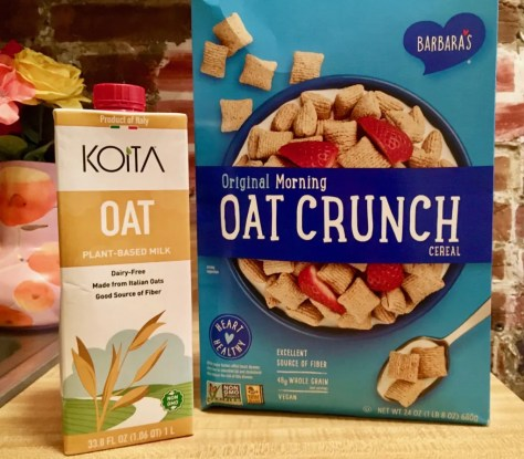 koita oat milk and cereal box2 photo by gail worley