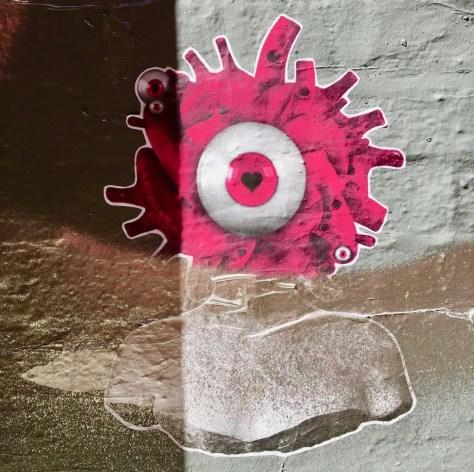 eye sticker photo by gail worley