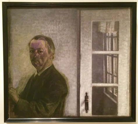 vilhelm hammershoi self portrait photo by gail worley