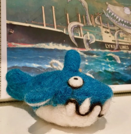 felted shark photo by gail worley