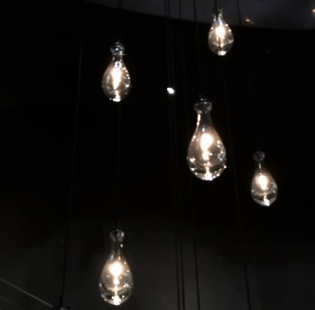 5 hanging bulbs photo by gail worley