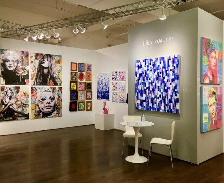 lilac gallery booth photo by gail worley