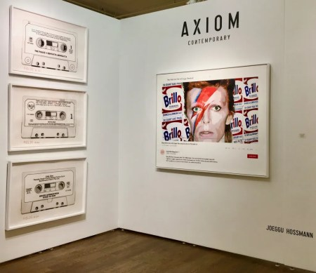 axiom gallery booth photo by gail worley