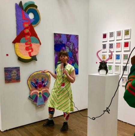 artist loraine lynn interviewed photo by gail worley