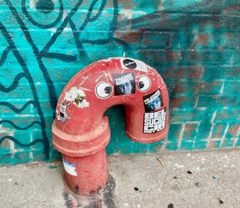 googly eye pipe photo by gail worley