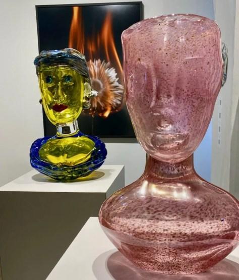 glass art by hugh findeletar photo by geoffrey dicker