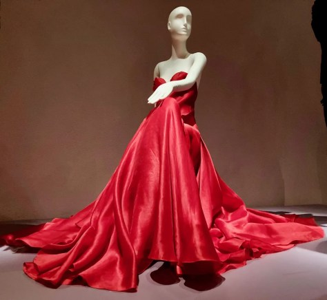american beauty rose dress by halston photo by gail worley